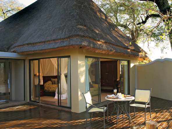 Jock Safari Lodge - Private deck