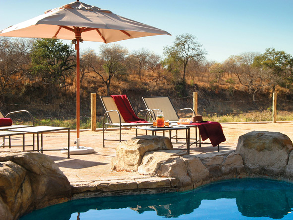 Jock Safari Lodge - Swimming pool