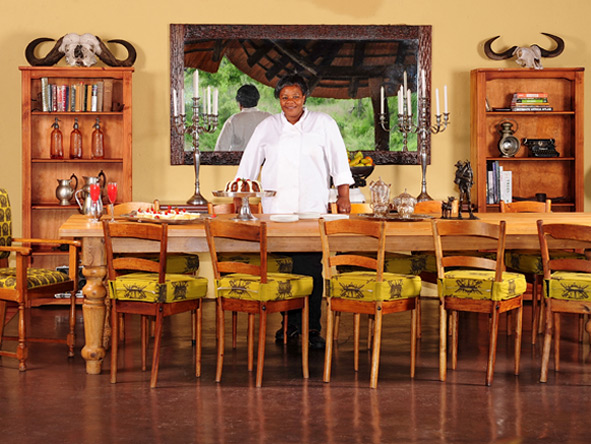 Jock Safari Lodge - Traditional African dishes