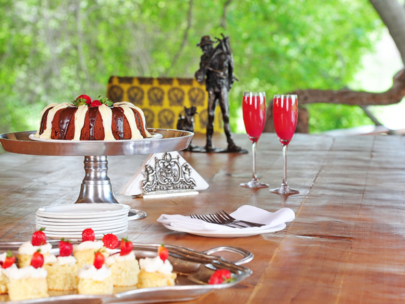 Jock Safari Lodge - Afternoon high tea
