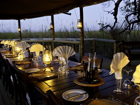 Jock Safari Lodge - Alfresco dining