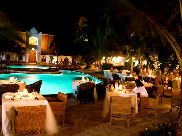 Sultan Sands Island Resort - Alfresco dining