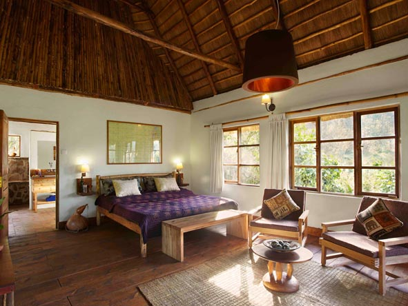 Volcanoes Bwindi Safari Lodge - Spacious suites