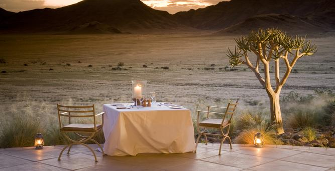 Celebration Destinations in Africa - Sossusvlei Desert Lodge