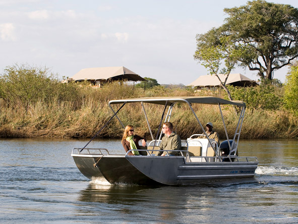 Luxurious Vic Falls & Botswana Safari - Zambezi River cruise