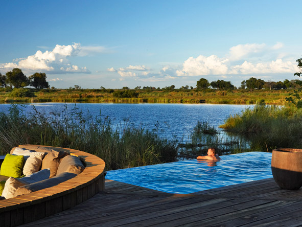 Luxurious Vic Falls & Botswana Safari - Swimming pool