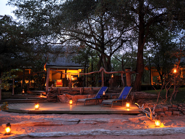 Changa Safari Camp - Romantic setting
