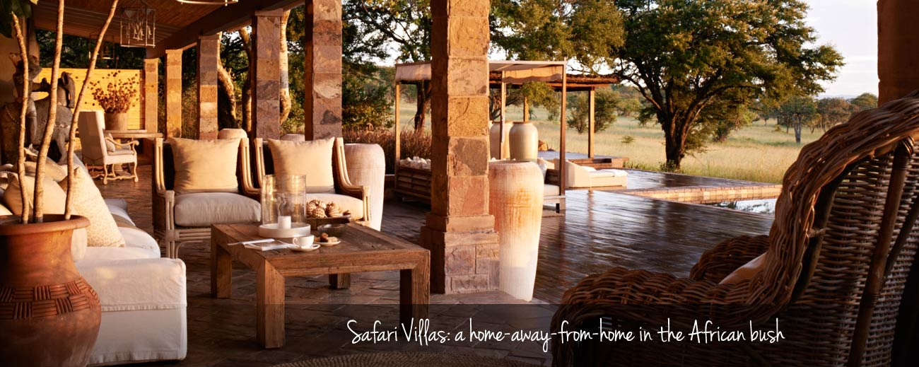 Top 5 Safari Villas in Africa