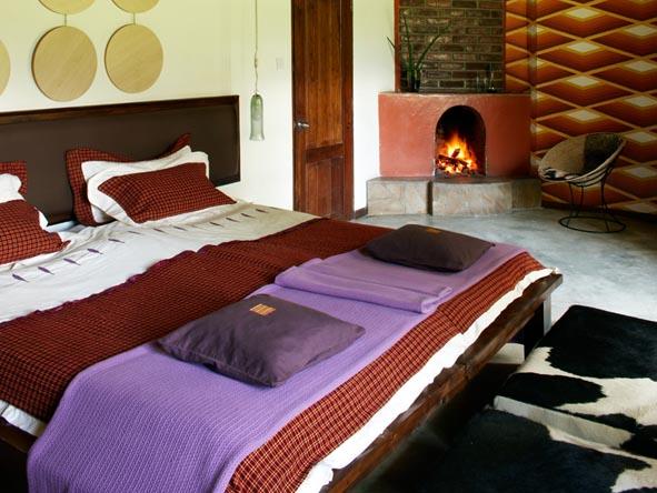 Hatari Lodge - Retro design