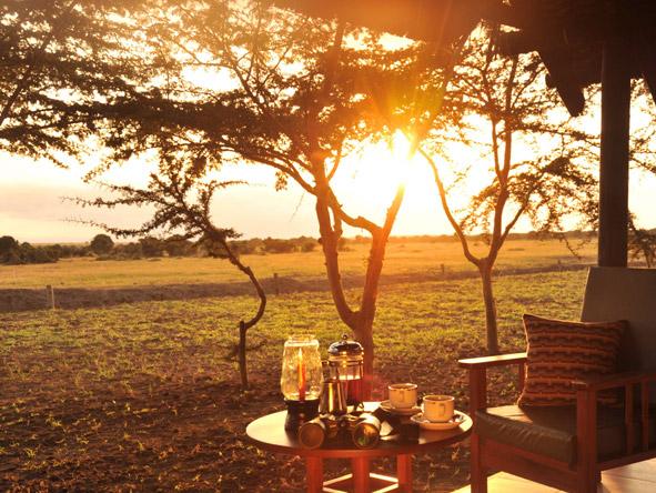 Sweetwaters Tent Camp - Fresh Kenyan coffee