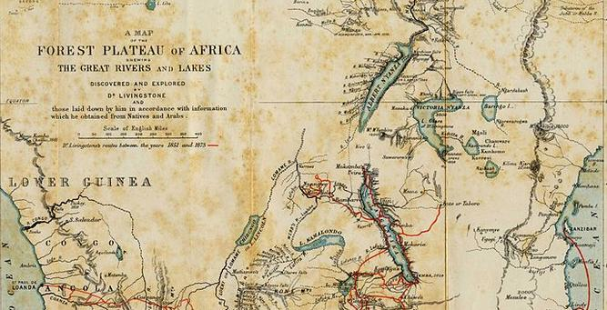 Africa's Great Adventurers - David Livingstone's travels