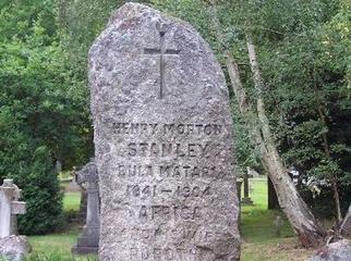 Africa's Great Adventurers - Stanley's gravestone