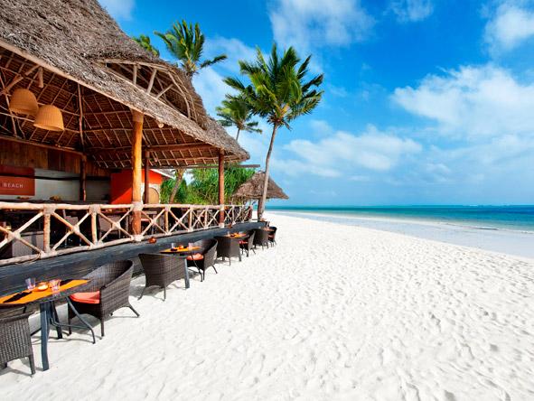 Melia Zanzibar - Beachside dining