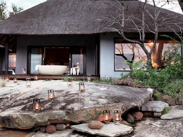 The sensational Granite Suites offer perhaps the most private, indulgent & luxurious accommodation in the Sabi Sands.
