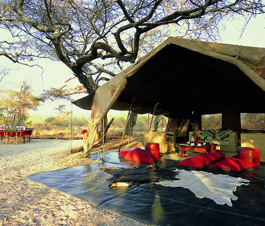 With its animal hides & old-fashioned lanterns, Amboseli Porini draws inspiration from the golden age of safari travel.