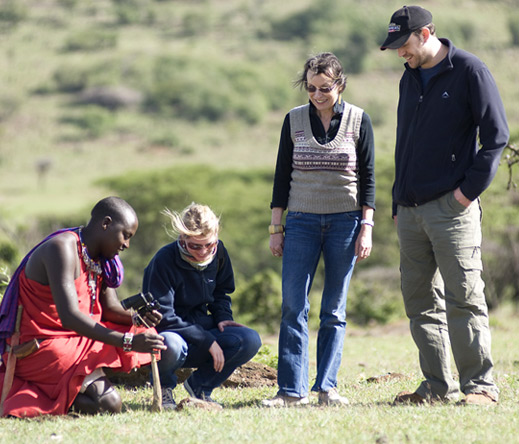 Nature walks in the company of expert guides make a fascinating alternative to game drives at Porini camps.