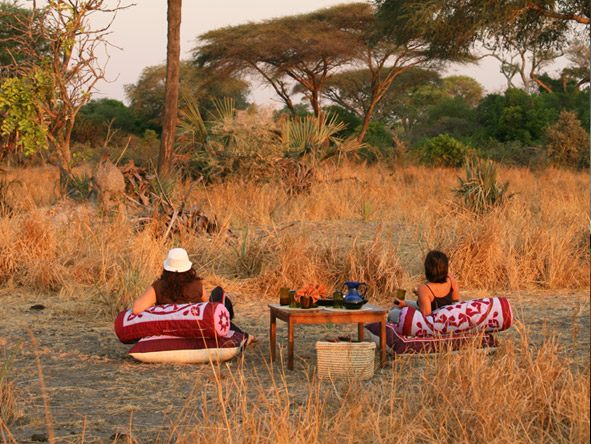 Katuma Bush Lodge - Comfortable game viewing