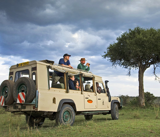 Porini's game drive vehicles have open roofs & sides to ensure great photographic opportunities for each visitor.