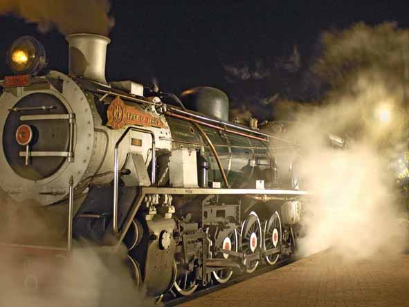 Rovos Rail delivers the world's most authentic luxury train journey, right down to the magnificent steam train.