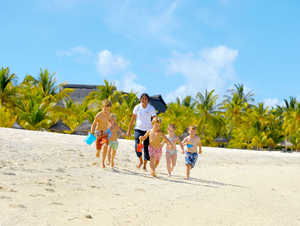 With its kids clubs, baby sitters & super-safe beaches, Mauritius is an ideal post-safari destination for families.