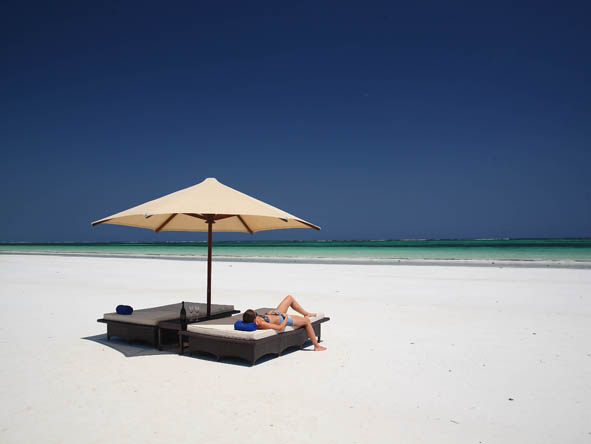 Several of Africa's beach destinations are as exclusive & private as her safari ones.