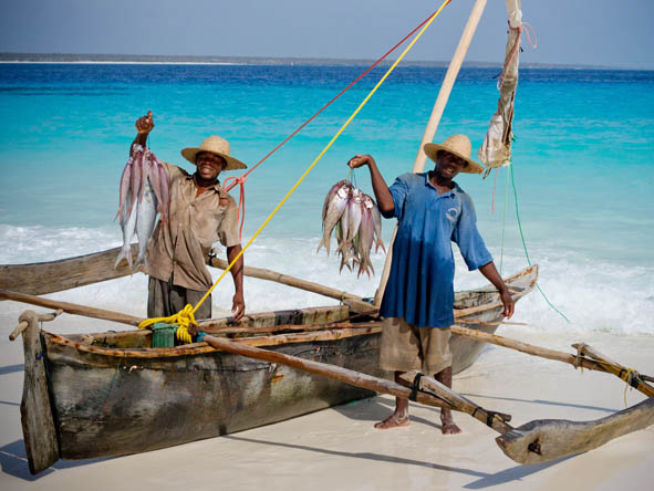 Stay close to small fishing villages & watch the local fishermen bring in their morning's catch.
