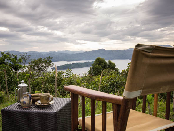 Volcanoes Virunga Lodge - Relaxing areas