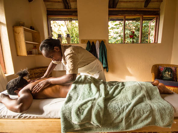 Volcanoes Virunga Lodge - Spa treatments