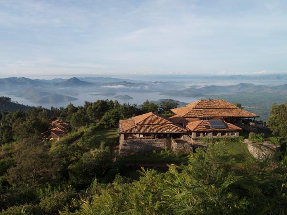 Volcanoes Virunga Lodge - Stunning views