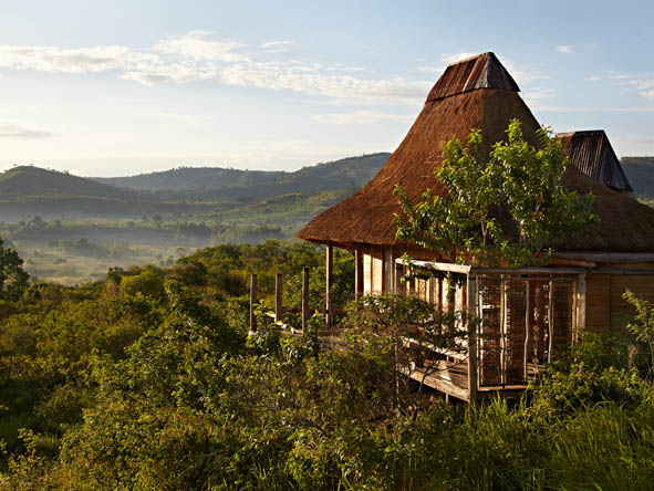 Kyambura Gorge Lodge - Private balconies