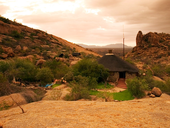 Erongo Wilderness Lodge - Swimming pool
