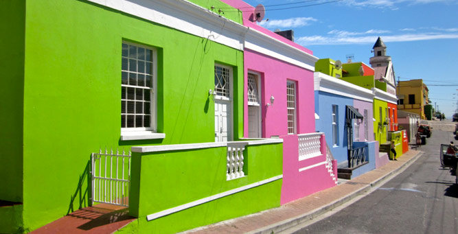History, Culture & Cuisine - Chiappini Street in the Bo Kaap