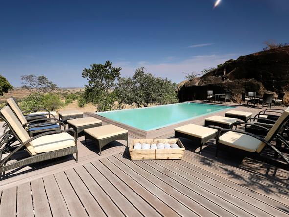 Lemala Kuria Hills - Large swimming pool