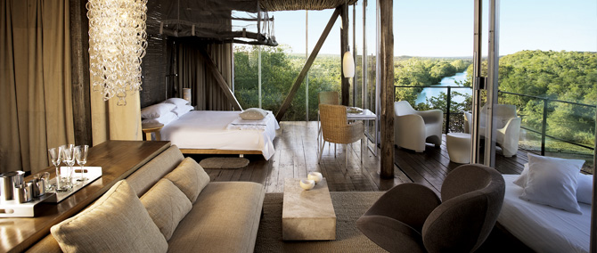 African Accommodation - Lodges