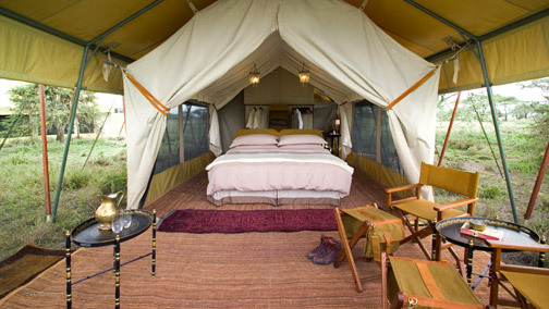 African Accommodation - Tented Camps