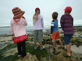 Easy Driver - Kids at De Hoop