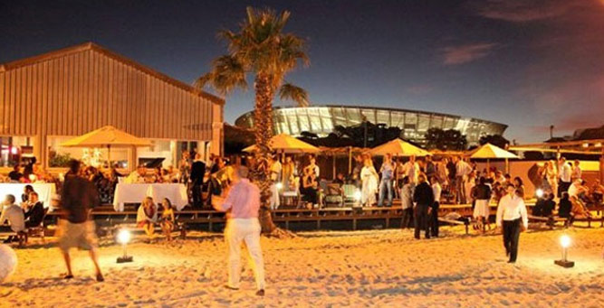Cape Town Sunset Spots - The Grand Cafe & Beach