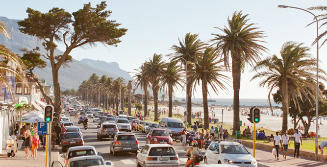 Cape Town Sunset Spots - Camps Bay Strip