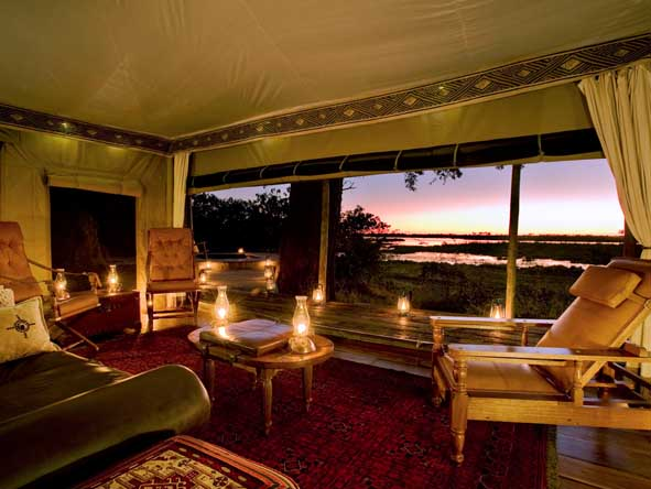 Zarafa Camp - Authentic safari experience