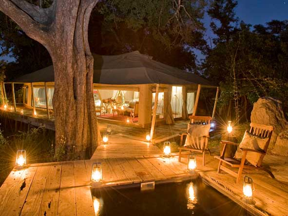 Zarafa Camp - Romantic ambience