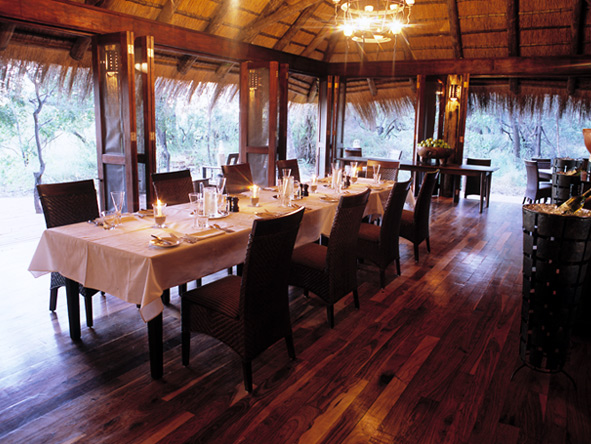 Nxabega Okavango Safari Camp - Private dining