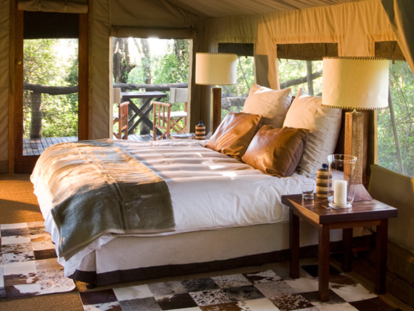 Nxabega Okavango Safari Camp - East African safari tents