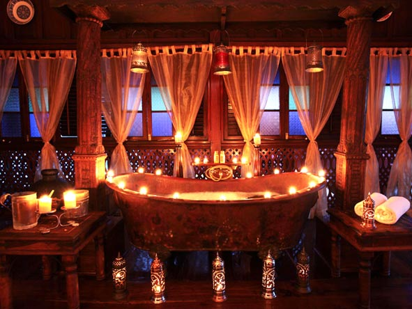 Jafferji House & Spa - Romantic baths