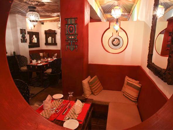 Jafferji House & Spa - Intimate dining