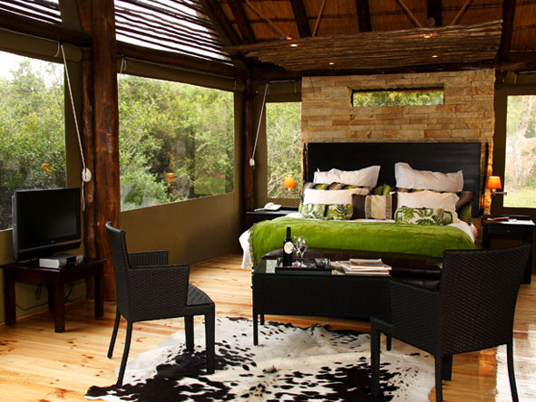 Bayethe Tented Lodge - Modernly designed rooms
