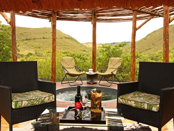 Bayethe Tented Lodge - Private plunge pools