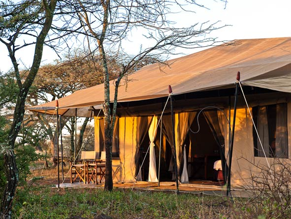 Masek Under Canvas - Small & intimate camp