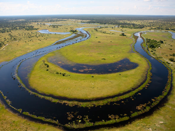 Botswana's Best Safari - Okavango Delta by air