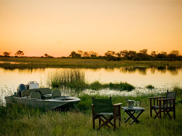 Botswana's Best Safari - Boat excursions