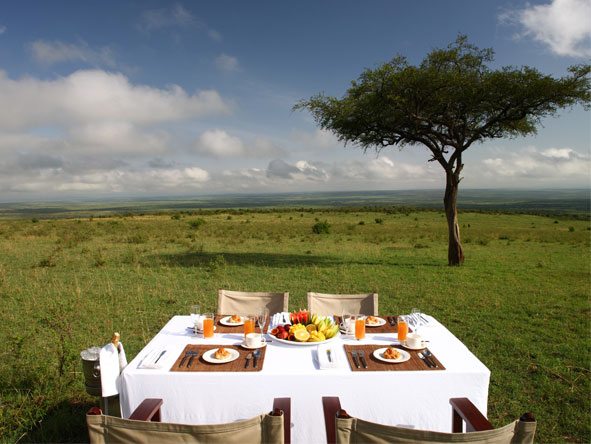 Explore Kenya Private 4x4 Journey - Alfresco dining